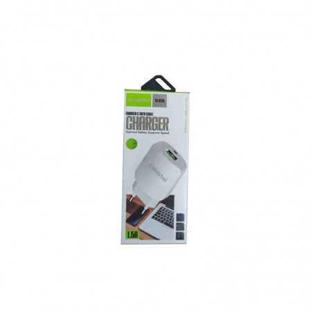 CHARGEUR SMARTEL 1.5A IPHONE