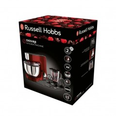 RUSSELL HOBBS Robot Pétrin Multifonctions 1000W - Rouge